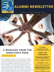 September 2020 Newsletter - Issue 1