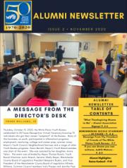 November 2020 Newsletter - Issue 2